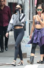 VANESSA HUDGENS in Tights Out in New York 06/15/2015