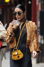VANESSA HUDGENS Out and About in New York 06/18/2015