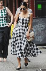 VANESSA HUDGENS Out and About in New York 06/21/2015