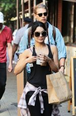 VANESSA HUDGENS Out and About in Soho 06/26/2015