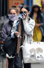VANESSA HUDGENS Out in New York 06/19/2015