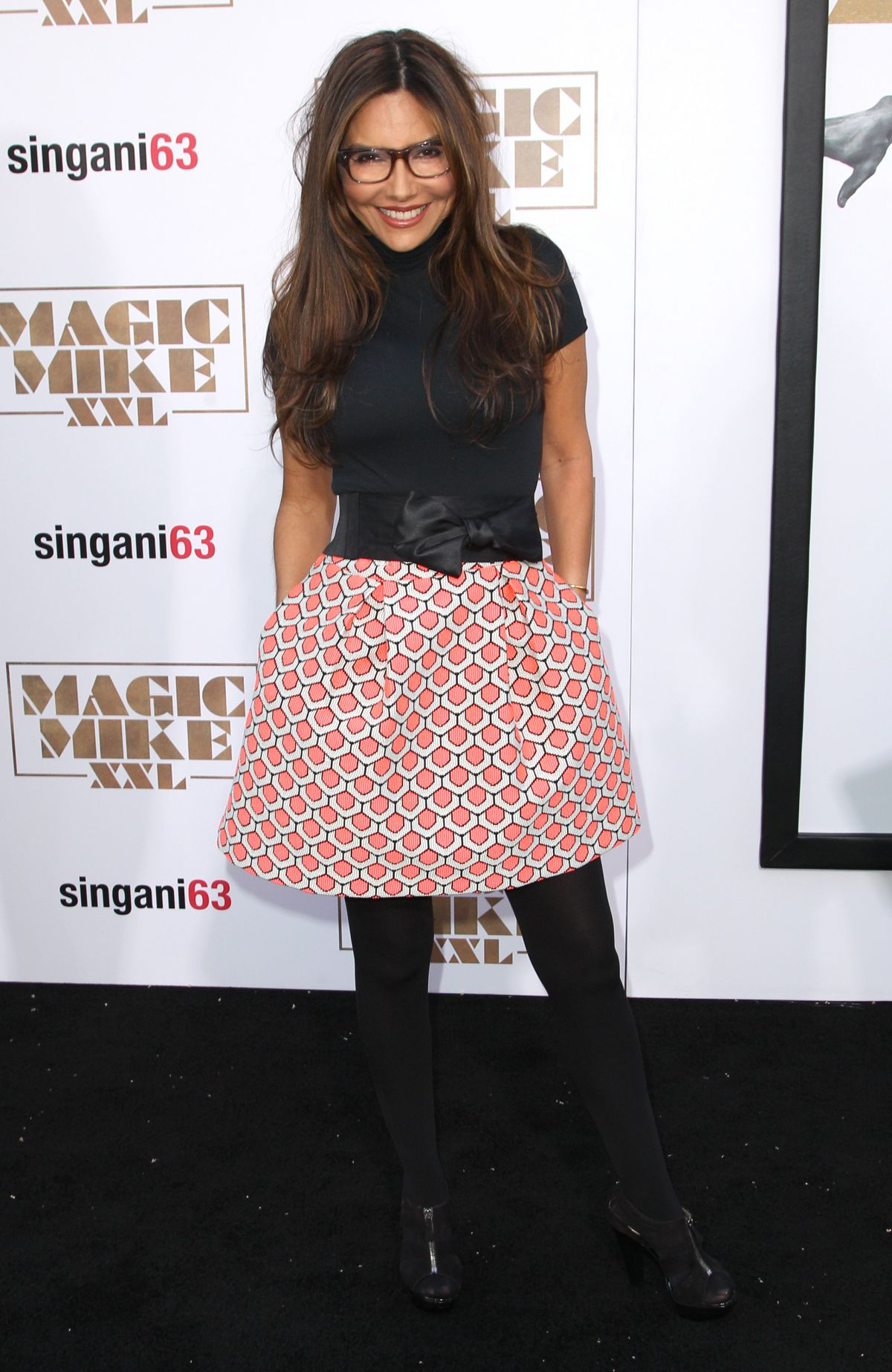 VANESSA MARCIL at Magic Mike XXL Premiere in Los Angeles
