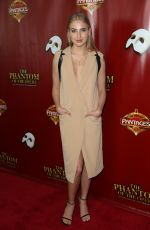 VERONICA DUNNE at The Phantom of the Opera Opening Night in Hollywood