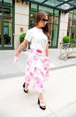 VICTORIA BECKHAM Leaves Her Hotel in New York 06/04/2015