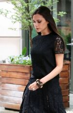 VICTORIA BECKHAM Out and About in New York 06/02/2015