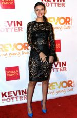 VICTORIA JUSTICE at Trevorlive Event in New York