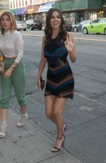 VICTORIA JUSTICE Heading to Capitale Restaurant in New York 06/11/2015