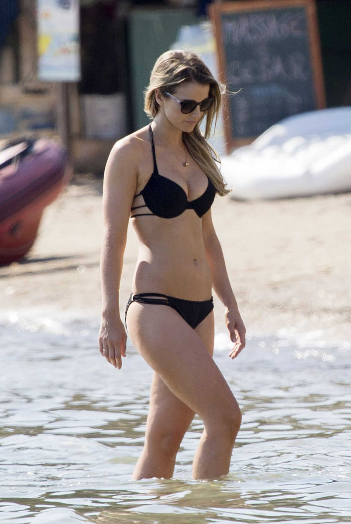 VOGUE WILLIAMS at a Beach in Ibiza 06/27/2015