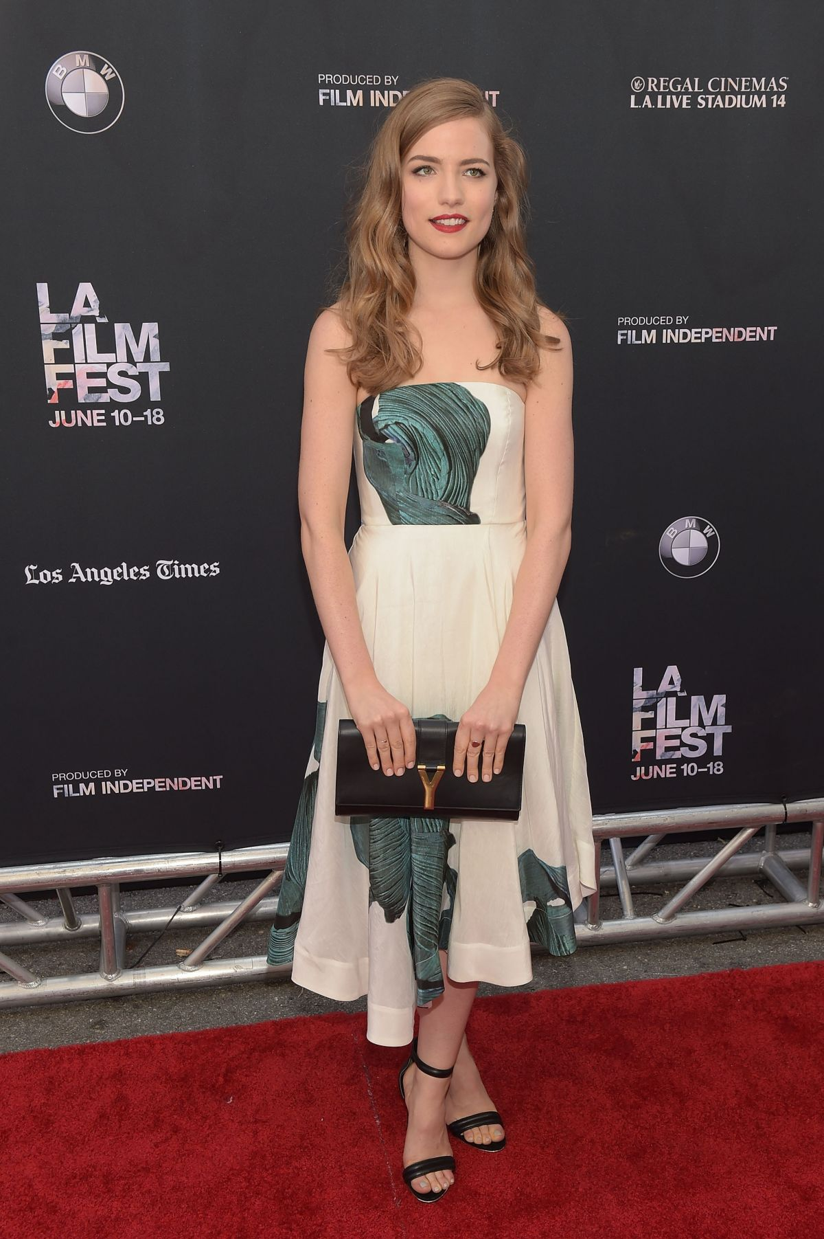 WILLA FITZGERALD at Scream Premiere at LA Film Festival