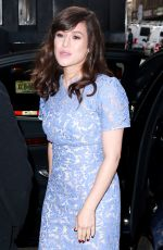 YAEL STONE Arrives at Today Show in New York 06/29/2015