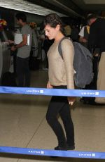 YAEL STONE At LAX Airport in Los Angeles 06/17/2015