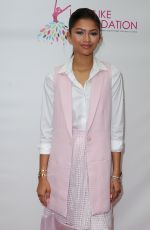 ZENDAYA COLEMAN at Women of Excellence Scholarship Luncheon in Los Angeles