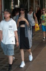 ZOE KRAVITZ Out and About in New York 06/24/2015