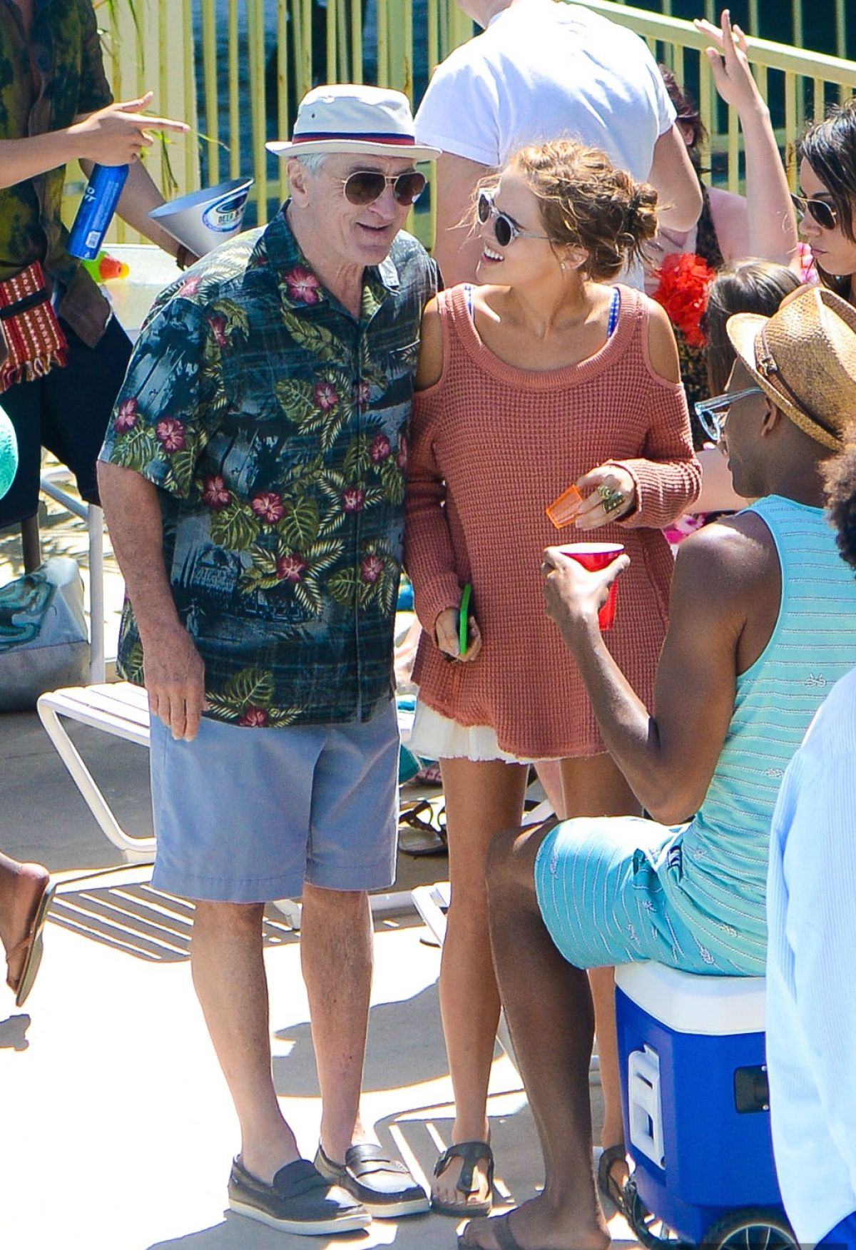 ZOEY DEUTCH on the Set of Dirty Grandpa 06/06/2015