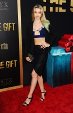 ABBEY LEE KERSHAW at The Gift Premiere in Los Angeles 07/30/2015