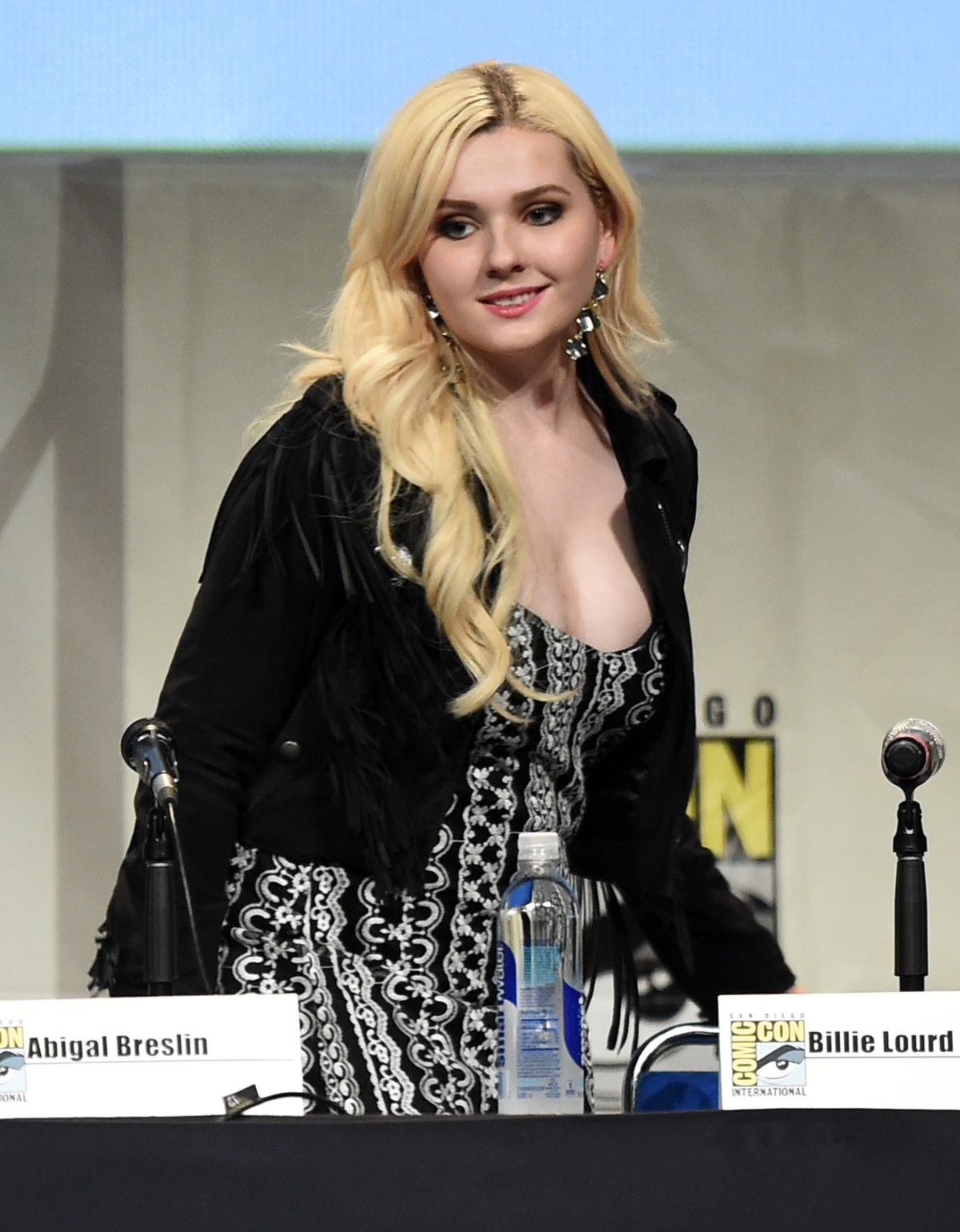 ABIGAIL BRESLIN at Scream Queens Panel at Comic-con in San Diego