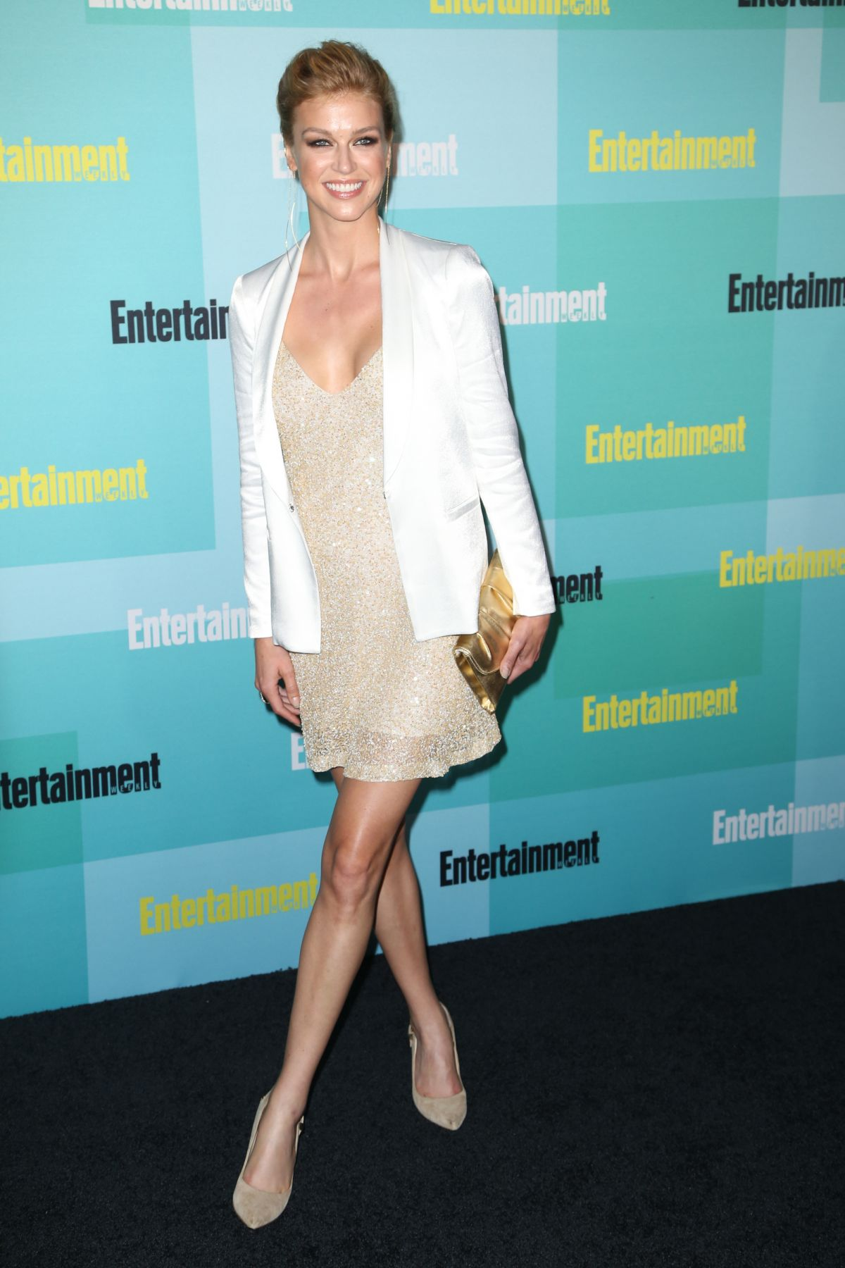 ADRIANNE PALICKI at Entertainment Weekly Party at Comic-con in San Diego