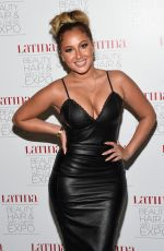 ADRIENNE BAILON at Latina Beauty, Hair & Wellness Expo in New Jersey