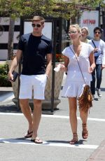 ALEX GERRARD Out for Lunch in Los Angeles 07/02/2015
