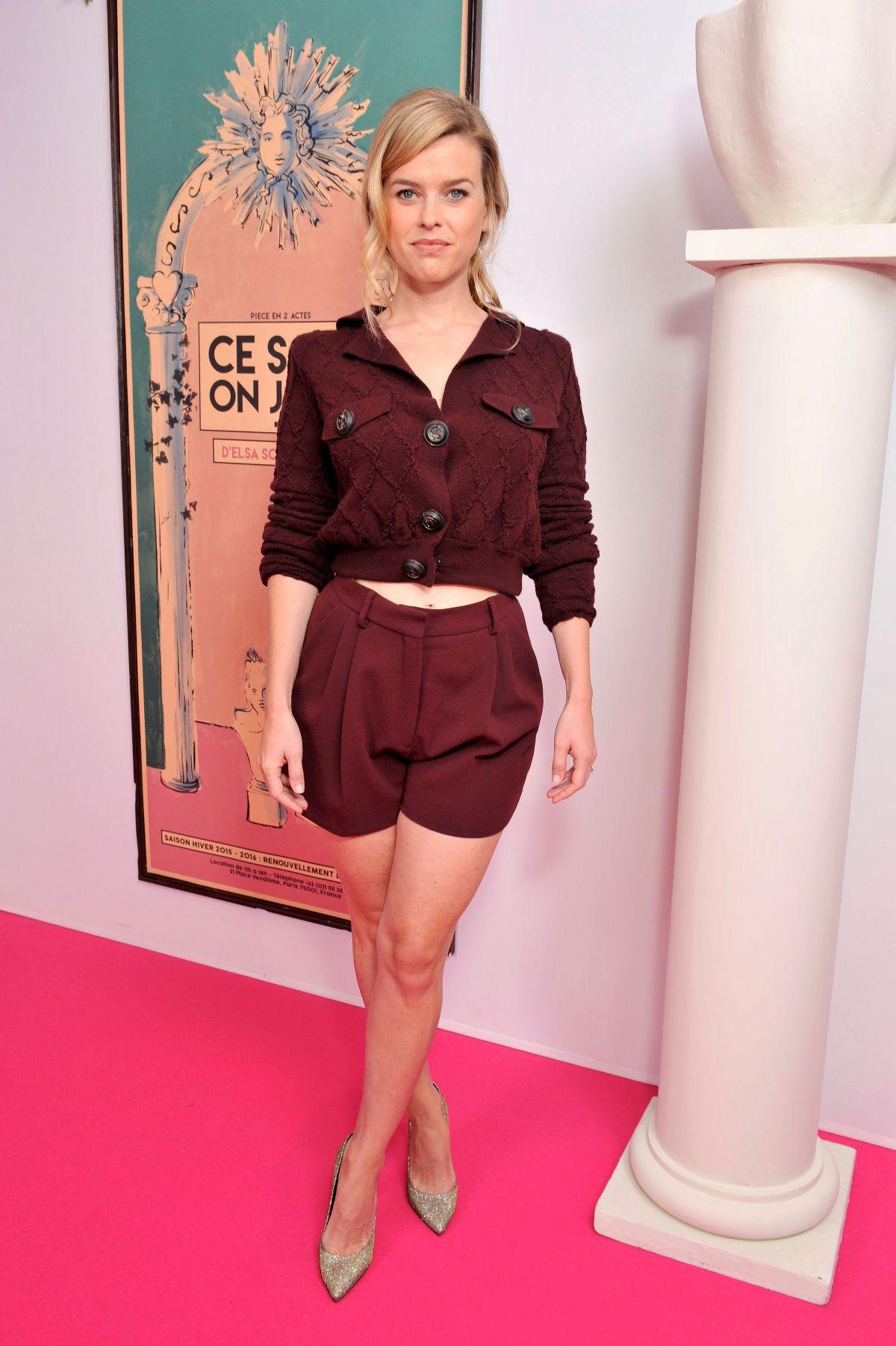 ALICE EVE at Schiaparelli Fashion Show in Paris