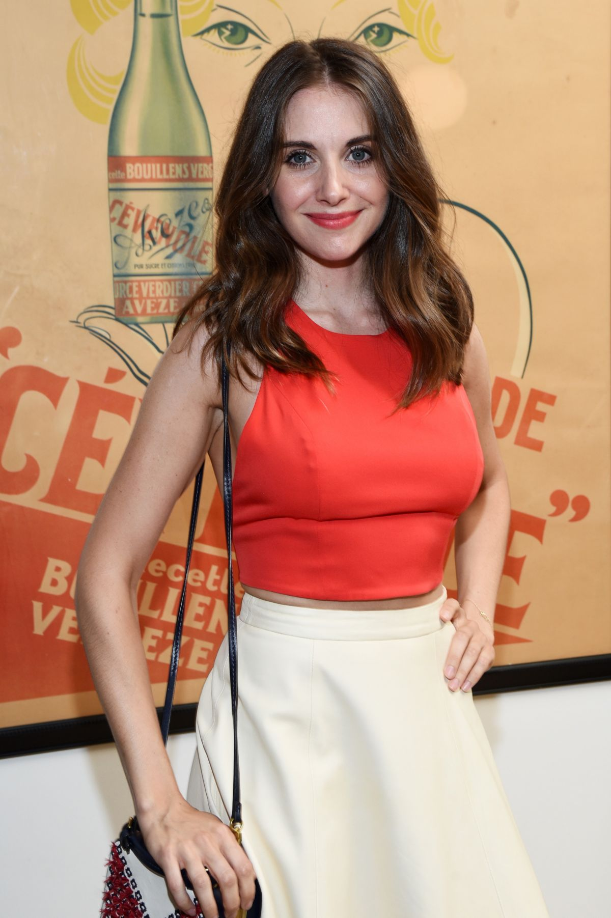 ALISON BRIE at Striiike and Caudalie Celebrate the French Beauty Solution in Beverly Hills