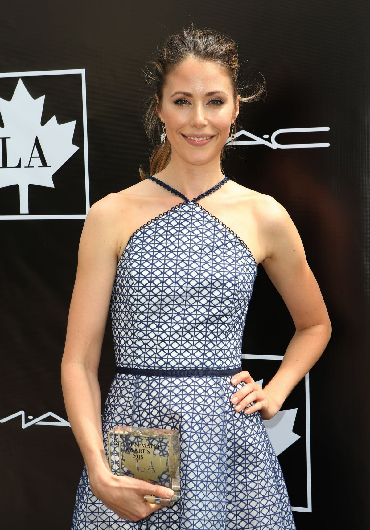 AMANDA CREW at 2015 Golden Maple Awards in Beverly Hills