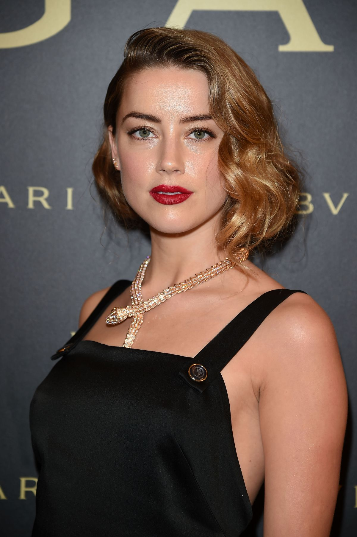 AMBER HEARD at Bulgari...