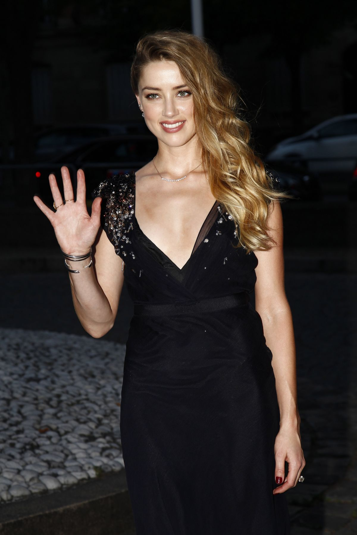b763036e41a4 AMBER HEARD at Miu Miu Fragrance and Croisiere 2016 Collection Launch in  Paris
