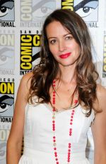 AMY ACKER at Person of Interest Panel at Comic Con in San Diego