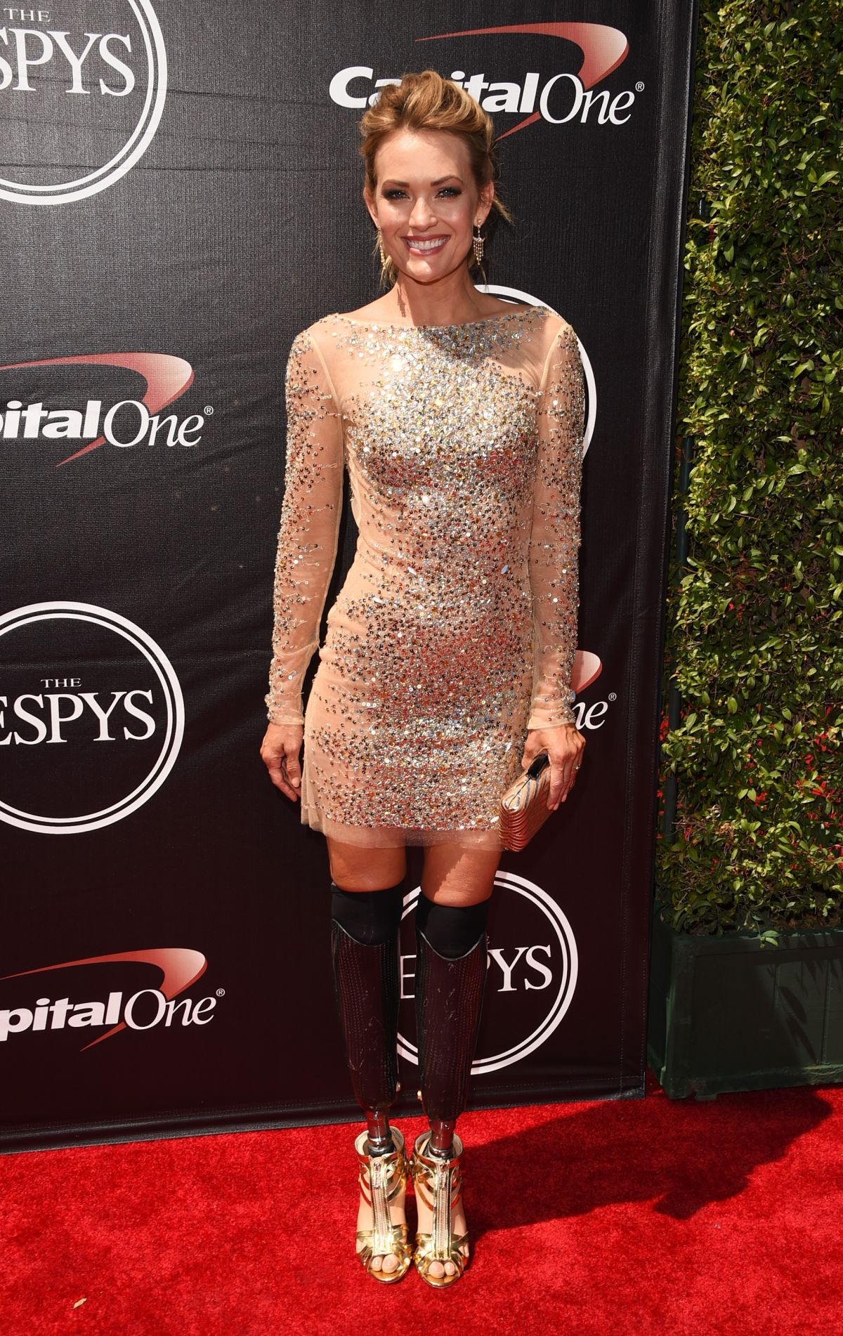 AMY PURDY at 2015 Espys Awards in Los Angeles