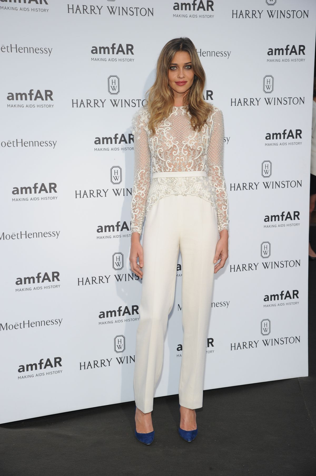 ANA BEATRIZ BARROS at Amfar Dinner at Paris Fashion Week