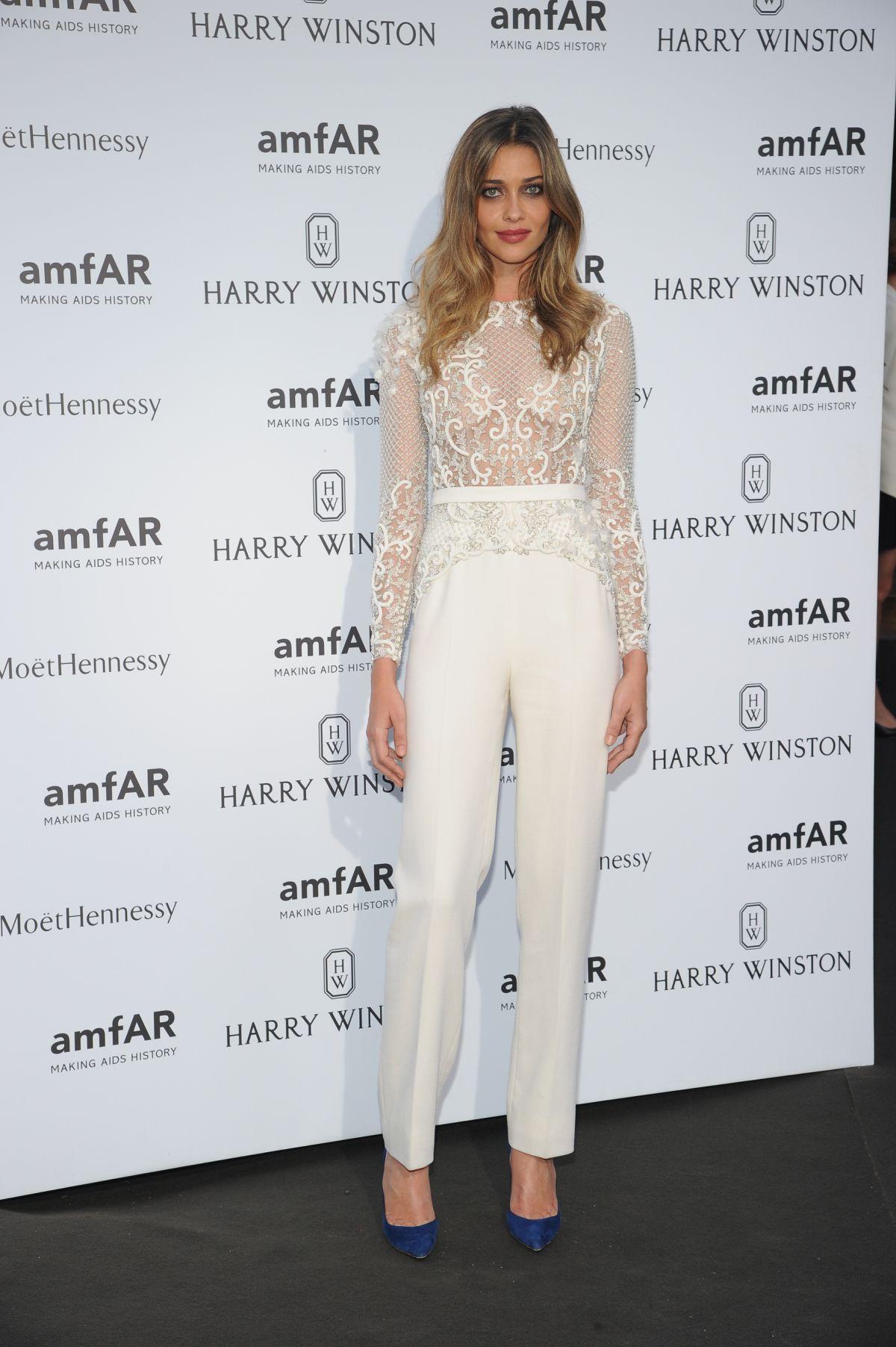ANA BEATRIZ BARROS at Amfar Dinner at Paris Fashion Week