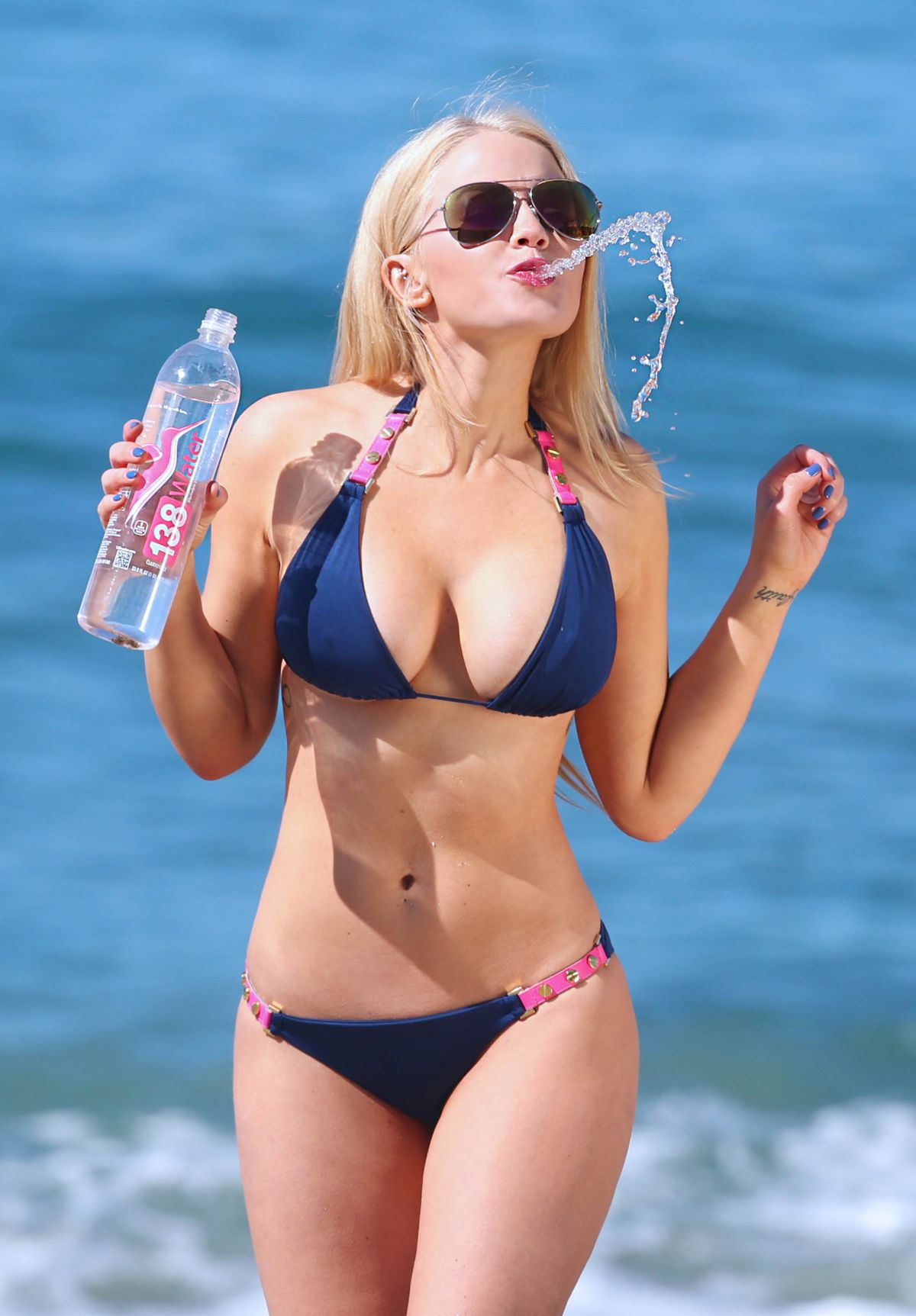 ANNA SOPHIA BERGLUND - 138 Water Photoshoot in Malibu 07/13/2015