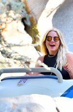 ASHLEY BENSON at Disneyland in Anaheim