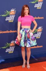 ASHLEY WAGNER at Nickelodeon Kids' Choice Sports Awards in Westwood