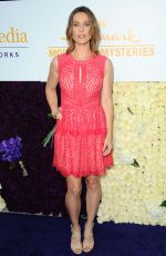 ASHLEY WILLIAMS at Hallmark Channel's 2015 Summer TCA Tour Event in Beverly Hills