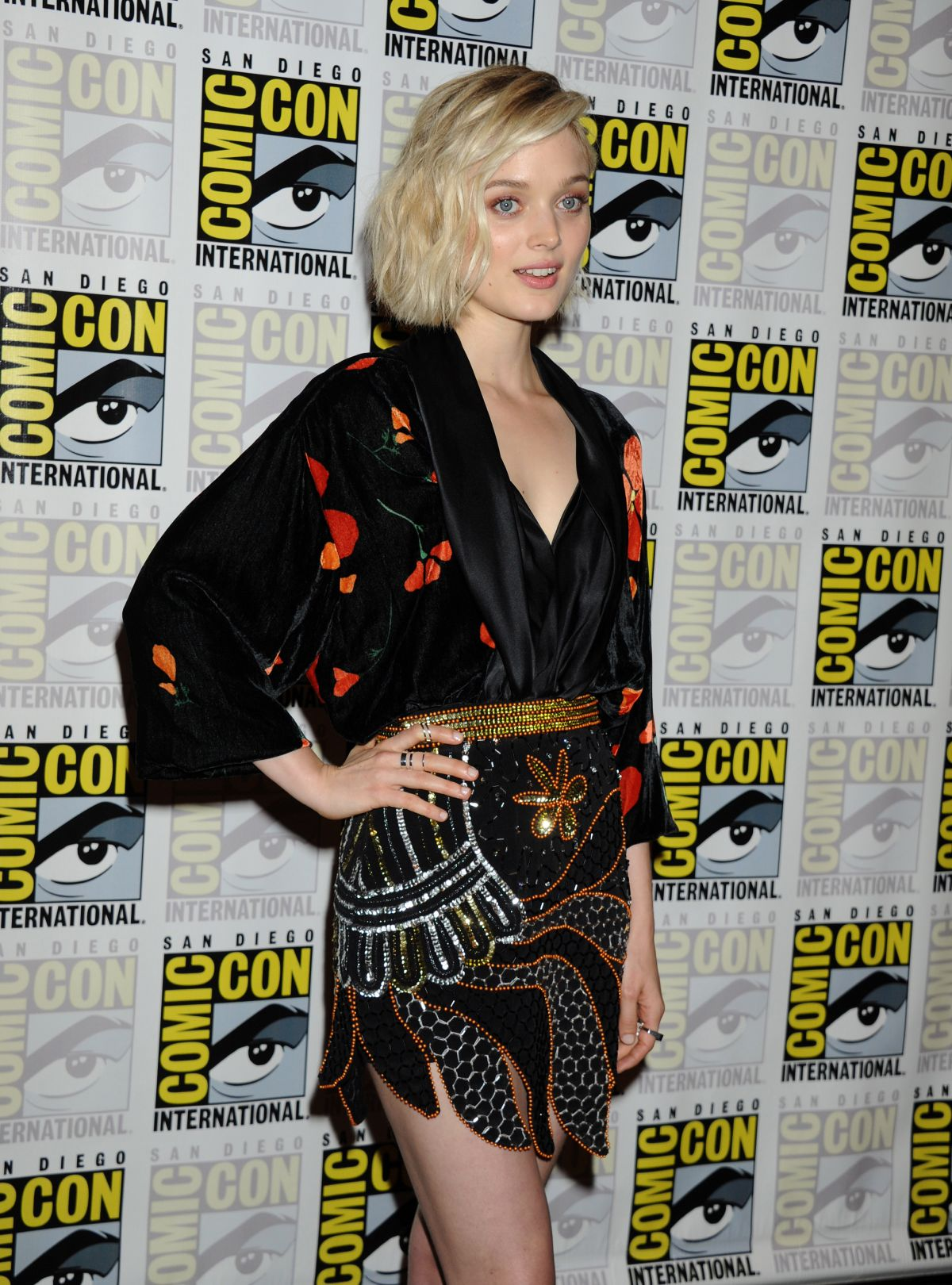 BELLA HEATHCOTE at Pride and Prejudice and Zombies Panel at Comic-con in San Diego