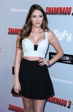 BLAIR FOWLER at Sharkando 3: Oh Hell No! Premiere in Los Angeles