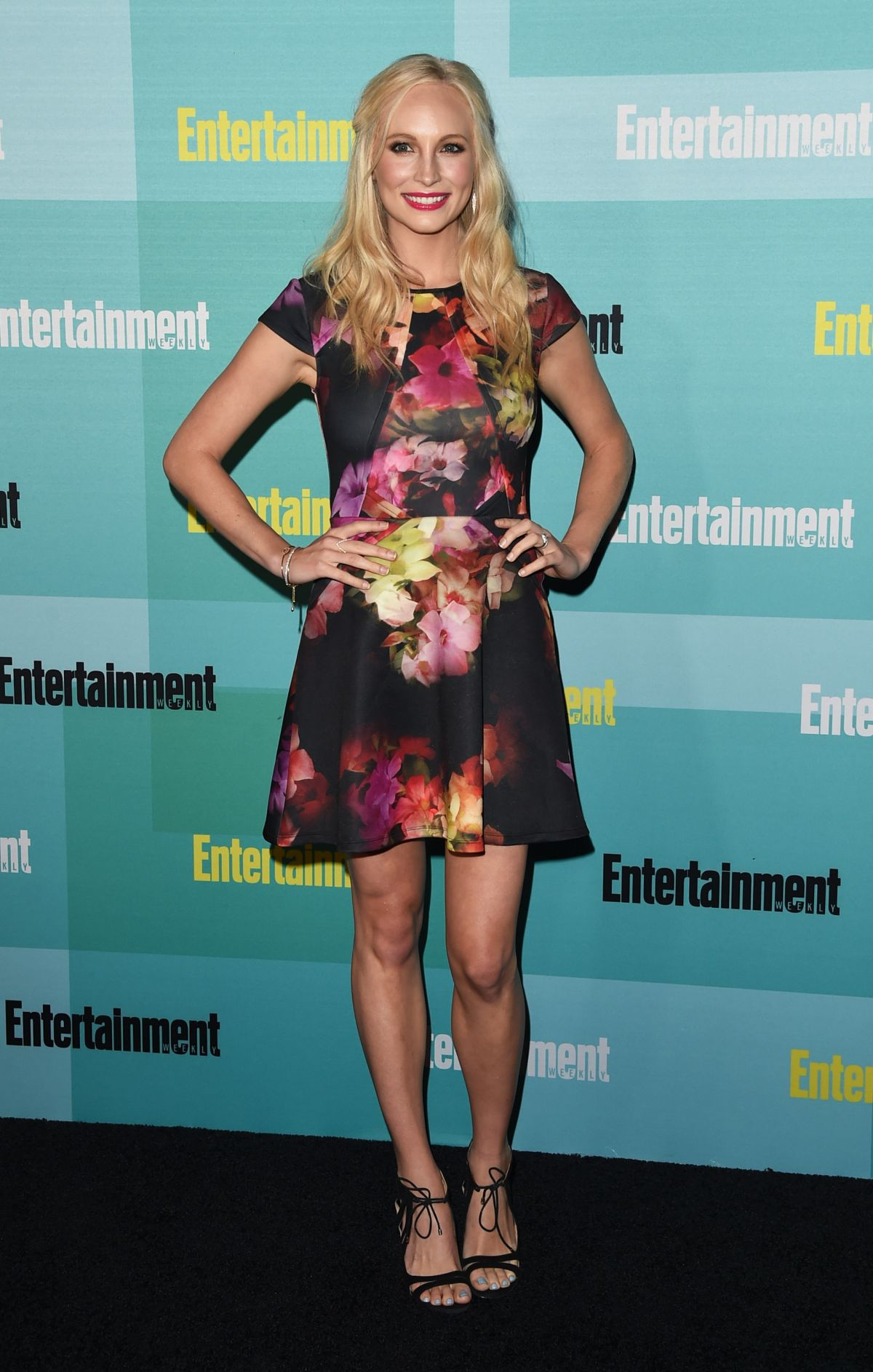 CANDICE ACCOLA at Entertainment Weekly Party at Comic-con in San Diego