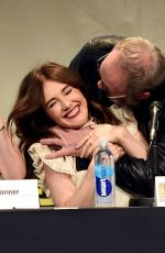CARICE VAN HOUTEN at Game of Thrones Panel at Comic Con in San Diego
