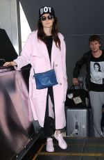 CARICE VAN HOUTEN at LAX Airport in Los Angeles 07/08/2015