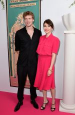 CARICE VAN HOUTEN at Schiaparelli Fashion Show in Paris