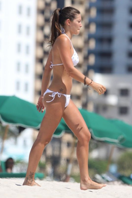 CARLA VELLI in Bikini at a Beach in Miami