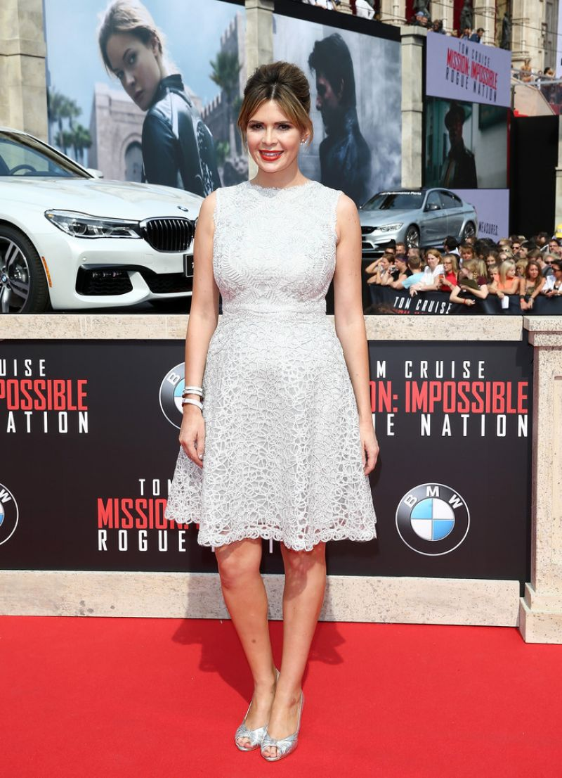 CARLY STEEL at Mission Impossible: Rogue Nation World Premiere in Vienna
