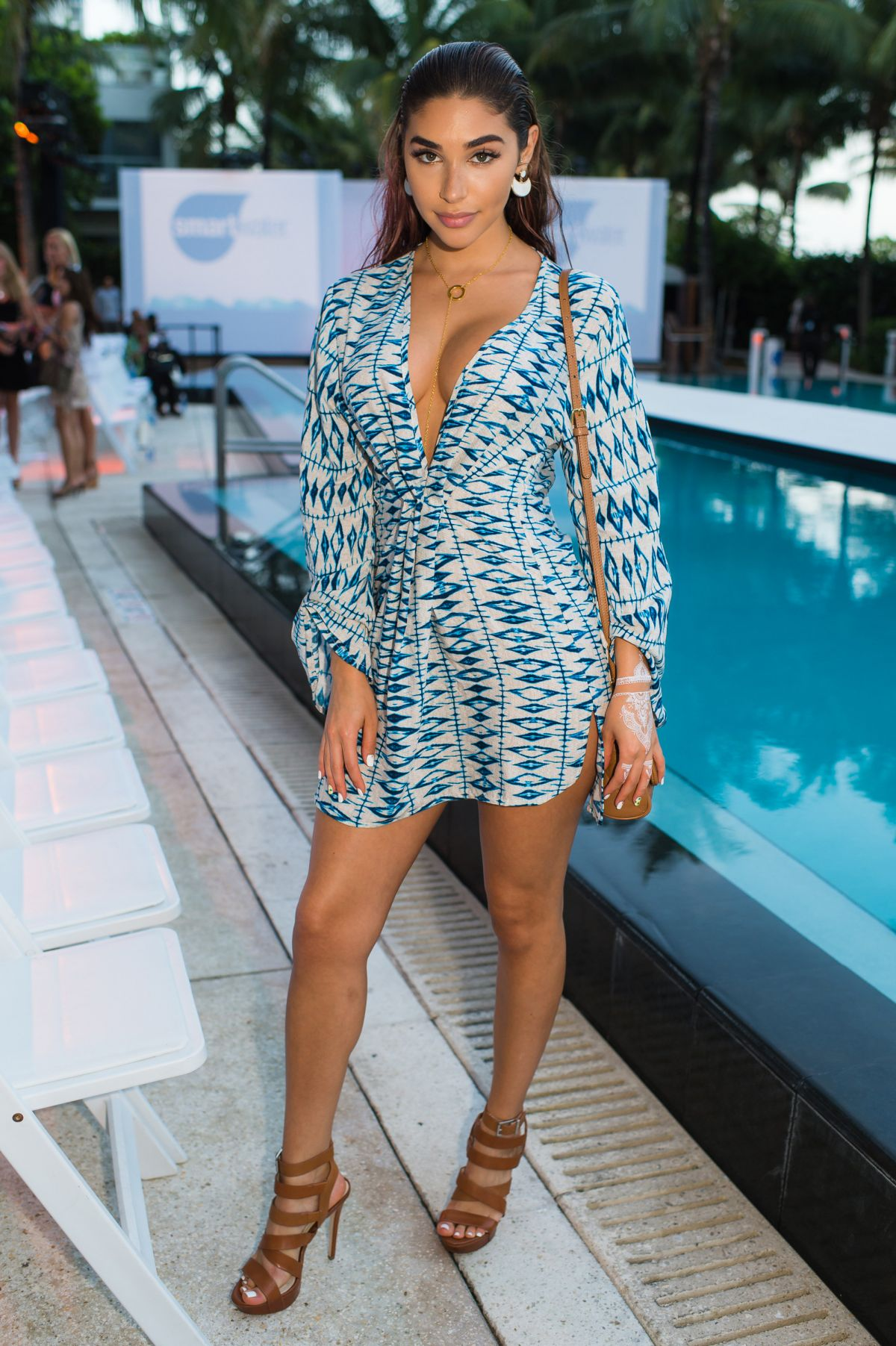 Chantel Jeffries At Cfda Incubator Show And Cocktail Party In Miami Hawtcelebs