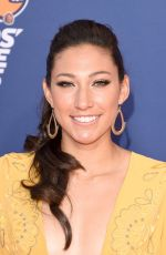 CHRISTEN PRESS at Nickelodeon Kids' Choice Sports Awards in Westwood