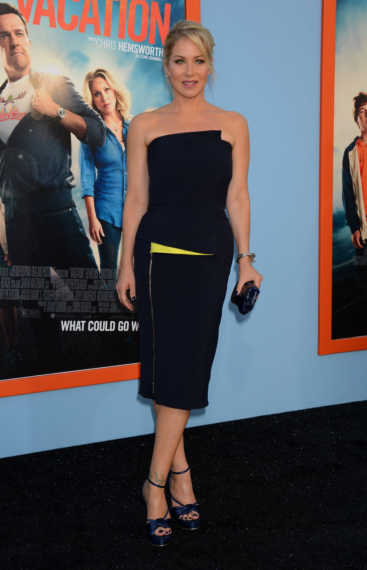 CHRISTINA APPLEGATE at Vacation Premiere in Westwood