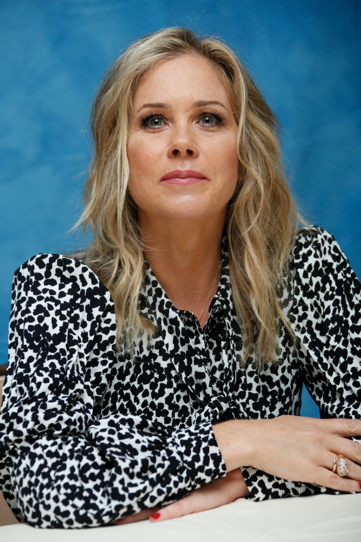 CHRISTINA APPLEGATE at Vacation Press Conference in Beverly Hills