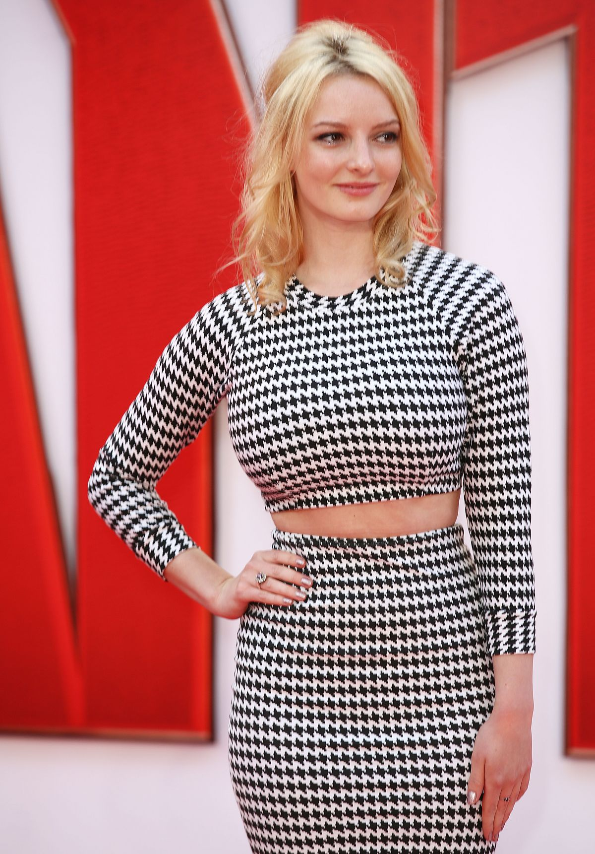 DAKOTA BLUW RICHARDS at Ant-man Premiere in London