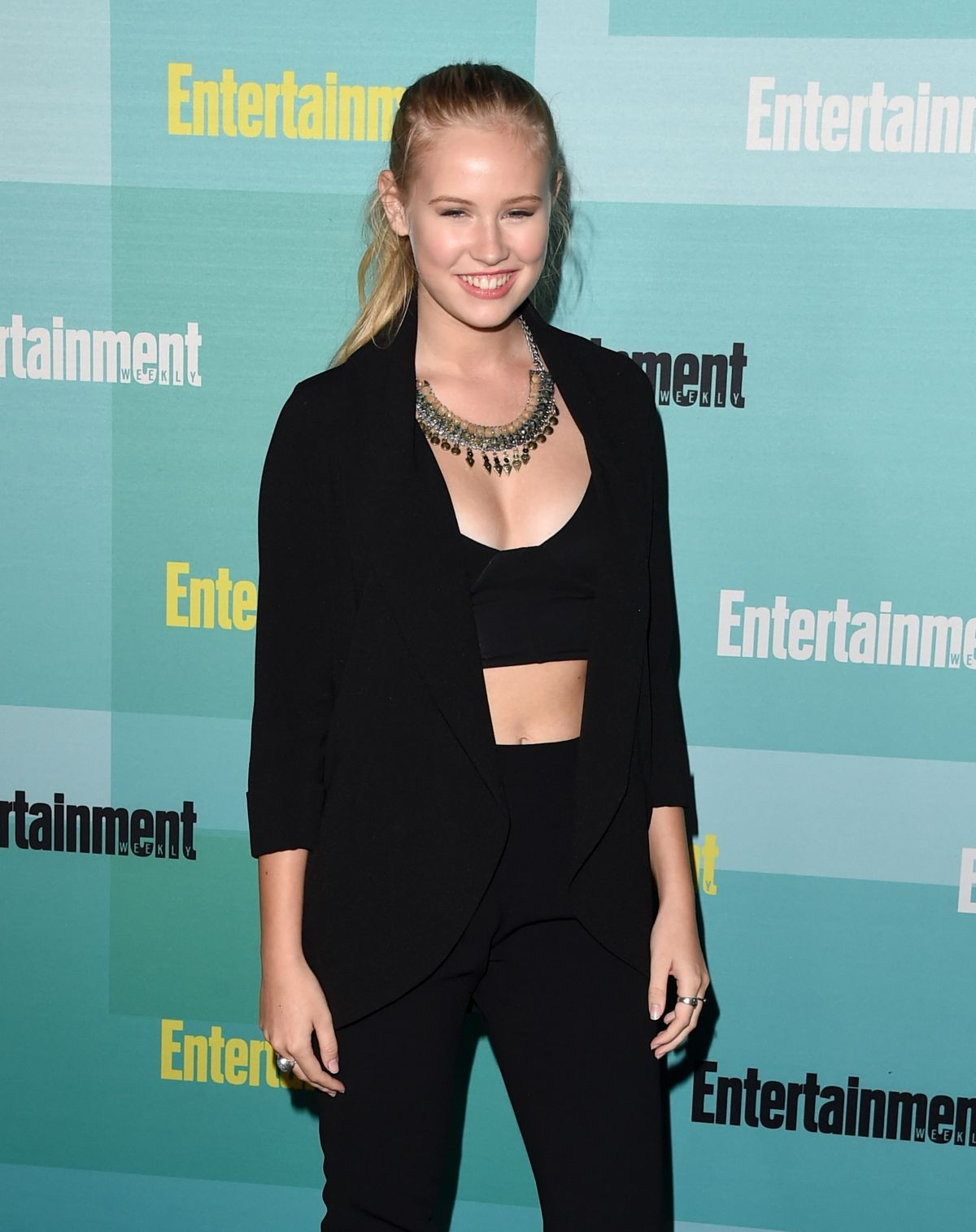 DANIKA YAROSH at Entertainment Weekly Party at Comic-con in San Diego
